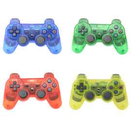 The DualShock 3 wireless bluetooth controller for the PlayStation 3 system provides the most intuitive game play experience with pressure sensors  Four Colors