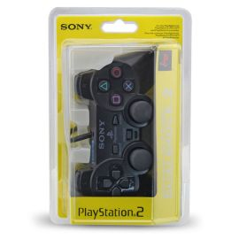 Wired game gamepad joystick for PS2 controller playstation 2 Vibration video gaming with IC blister Packing Copy