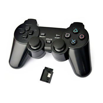 3in1 2.4G wireless Controller for PS2/PS3/PC Two Colors