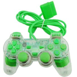 PS2 Wired Controller for PlayStation 2 adapter include for PC Win(7/10) Vibration Gamepad Joypad  Six Colors