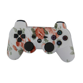 PS3 Controller, Wireless Bluetooth Gamepad PS3 Games Remote Control   with USB Charger Cable New Upgrade Version  Five Colors