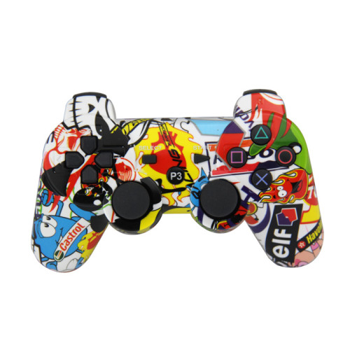 PS3 Controller, Wireless Bluetooth Gamepad PS3 Games Remote Control with USB Charger Cable New Upgrade Version  Three Colors