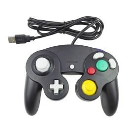 Gamecube Controller,Classic Gamecube USB Wired Controller Play on PC and Mac  Three Colors