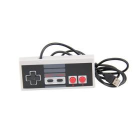 5.8 feet Classic USB wired Controller for NES Gaming, Retro Game Pad Joystick Raspberry Pi Gamepad for Windows PC Mac Linux RetroPie NES Emulators