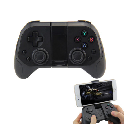 Wireless Bluetooth Gamepad for iOS Android PC TV Game Controller Joystick 2.4G Receiver with Stand Two Colors