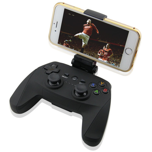 Wireless Bluetooth 3.0 Gamepad with Phone Holder Bracket for Android Smartphone Tablet PC, USB Handheld Game Controller Joystick Joypad for PS3