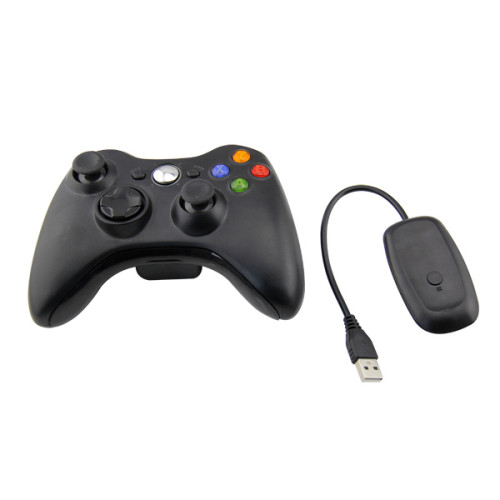 2.4G Wireless Remote Controller For Xbox 360 Computer With PC Receiver With USB Gamepad For Microsoft Xbox360 Joystick Controle neutral Packing
