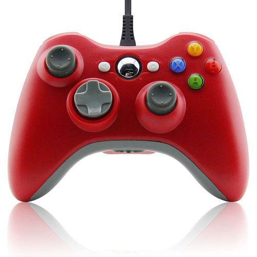 New 1pcs USB Wired Joypad Gamepad Controller For Xbox 360 Joystick For Official Microsoft PC for Windows7 / 8 / 10 Four Colors