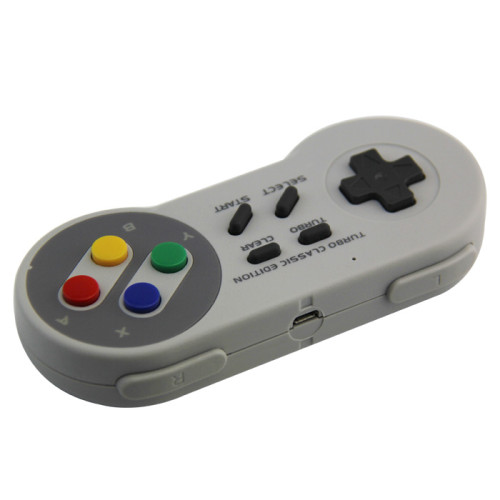 Wireless Controller for Super NES Classic Edition&NES Classic Edition, HonWally 2.4GHz USB Game pad for PC,Raspberry PI (OS,Windows,Linux,Android) Double Wireless Adapter (1 PACK)