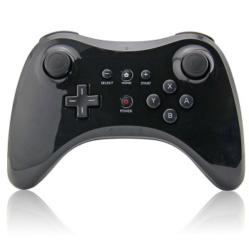 Wii U Pro Controller -Wireless Rechargeable Bluetooth Dual Analog Controller Gamepad for Nintendo Wii U with USB Charging Cable  Three Colors