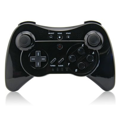 Wireless 3 Pro Controller Gamepad for Nintendo Wii U, Three Colors