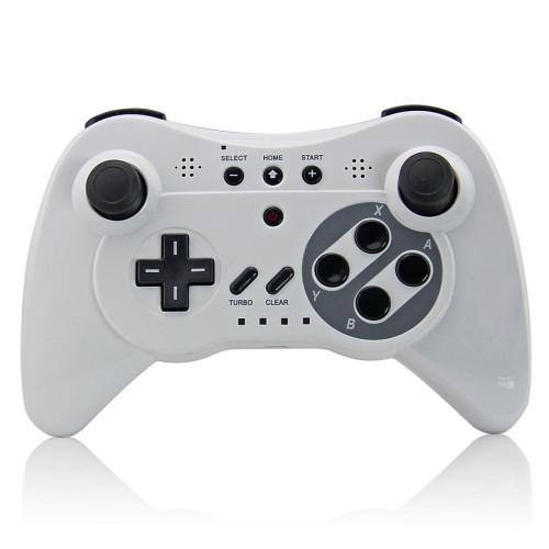 Wireless 3 Pro Controller Gamepad for Nintendo Wii U, Three Colors