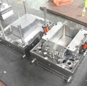 Plastic Fruit Box Crate Mould