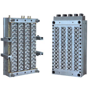Preform Mould With Hot Runner Valve Gate
