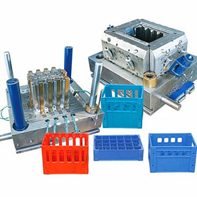 Bottle Crate Plastic Mould