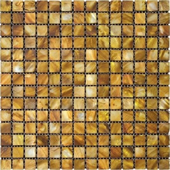Coconut color Mother of Pearl shell shell Square Mosaic Tile