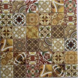 Fashion Inkjet pattrened Backsplash,Marble Mosaic Tile