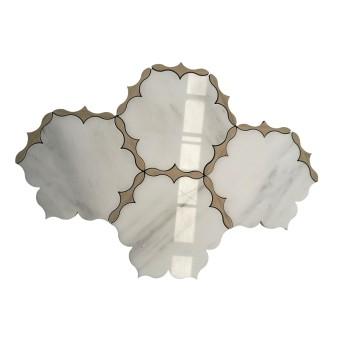 Fashion Water Jet Mosaic Tile