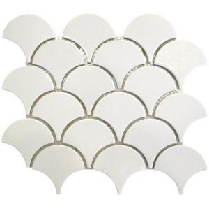 scale shape Porcelain Mosaic Tile