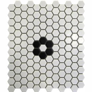 hexagon Porcelain Mosaic Tile