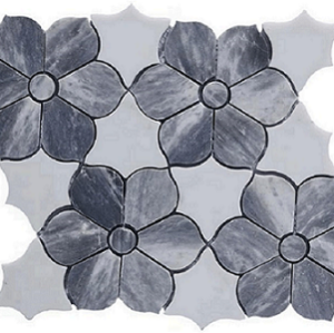 Fashion Water Jet Marble Tile,polished