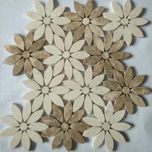 Emperador Light& Cream Marble Mosaic