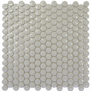penny round ceramic mosaic