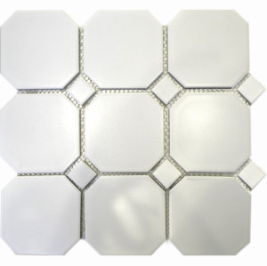 interlock ceramic mosaic