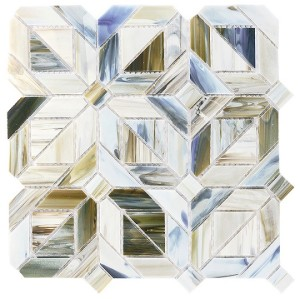 recycled glass- geometry