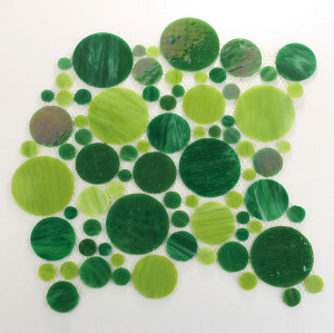 recycled glass-round