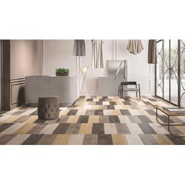 Porcelain stoneware tiles of the Bois Urbain collection by GranitiFiandre faithfully reproduce the visual and tactile sensations of wood, one of the most loved and appreciated surfaces for floors and walls. Versatile and suggestive, it can easily match any interior or exterior design.