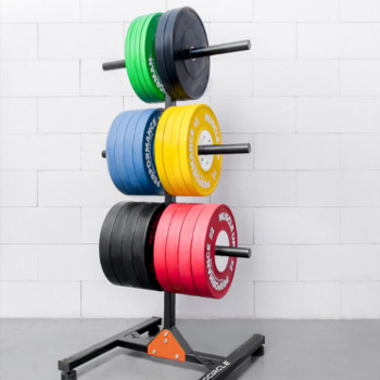 Cross Fitness Levantamiento de pesas Entrenamiento PU Hi Temp Barbell Parachoques Placas