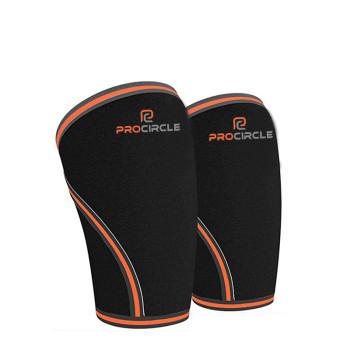 ProCircle Knee Sleeve Squat Support and Compression for Powerlifting
