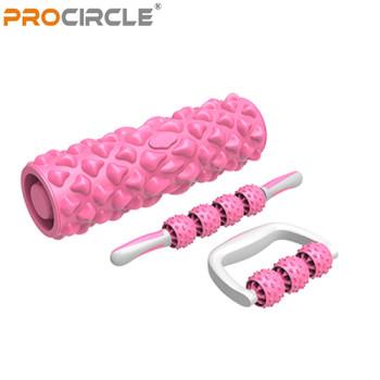 ProCircle Massage Set Massage Stick Foot Massager Foam Roller