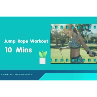 10 Minutes Jump Rope Workout to Make You Slim