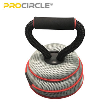 ProCircle Adjustable Soft Iron Kettlebell for Man and Women Workout