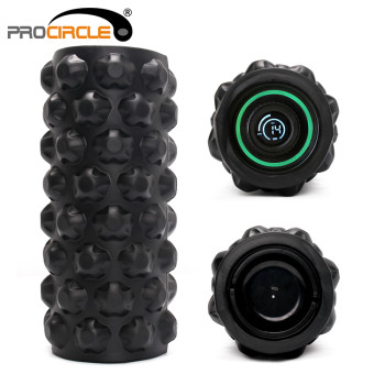 Vibrating Foam Roller Therapy Massage Amazon Hot Seller