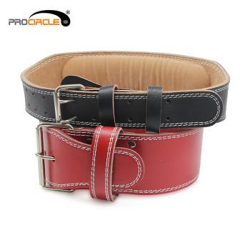 ProCircle Weightlifting Leather Belt Custom Service