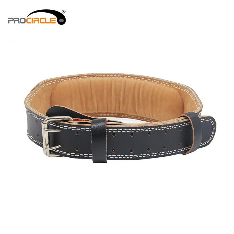 powerlifting leather belt