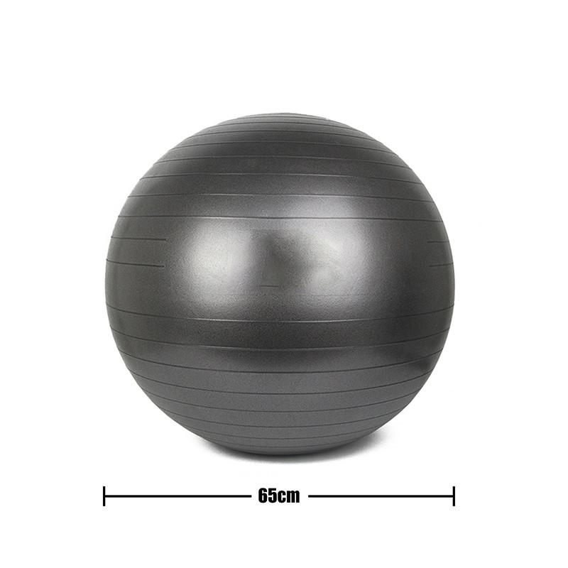 taille de la balle de yoga
