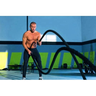 3 Battle Rope Exercises For Your Core