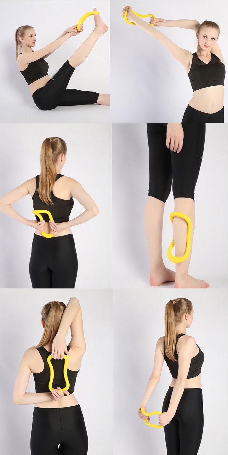 utilisation du cercle de yoga