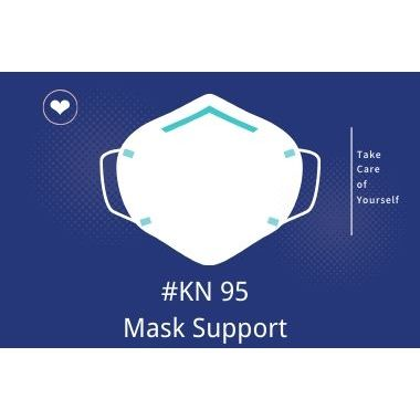 # KN95 Supporto urgente maschera