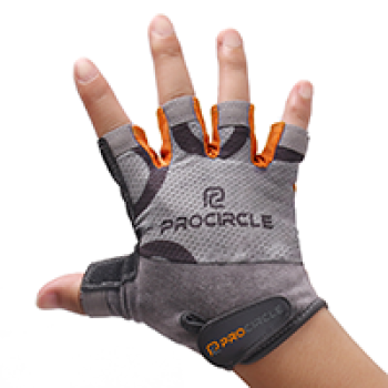 ProCircle Full Finger Gym Fit Gloves for Pull Up Weightlifting for Men and Women