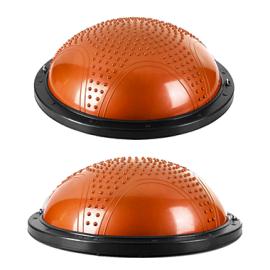 バランストレーナーの安定性ハーフボールボスボールとワークアウトガイド