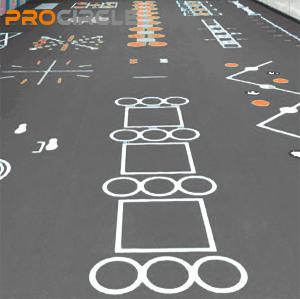 ProCircle PVC Fitness Flooring Fußmatten nach Maß