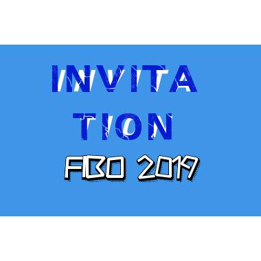 The Invitation of FIBO- ProCircle April 4-7