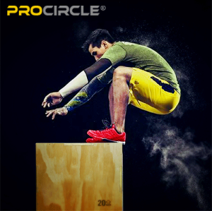 Procircle Plyo Box Set Adjustable Fitness Wooden Plyo Box For Jumping Training