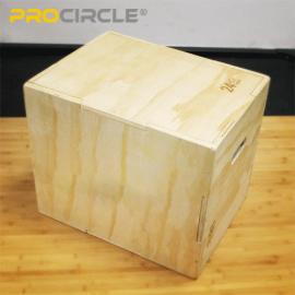 Procircle Plyoボックスセットジャンプトレーニングのための調整可能なフィットネス木製Plyoボックス