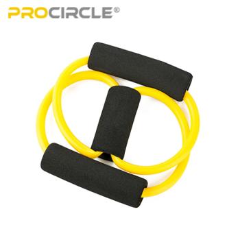 Kit de tubo de resistencia de banda de ejercicio Ab para entrenamiento físico
